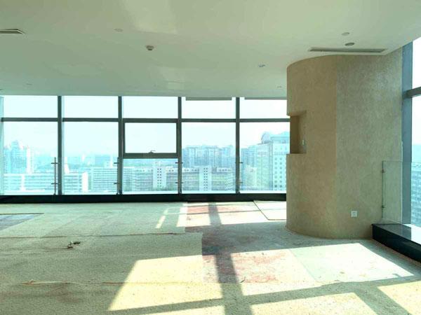 环球贸易中心743平米独立机房隔断到顶